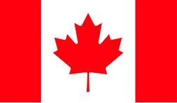 Canadian Flag | Official Poly-Dowels® Interior Cake Pillars Plastic Cake Dowels Made in the USA