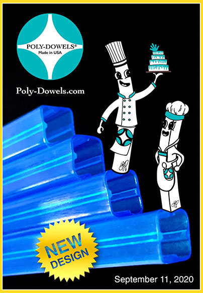 Poly-Dowels® Official Plastic Cake Dowels New Square Dowels available soon